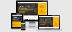 Toowoomba electrical one of our recent website build project